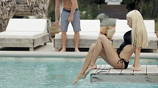 Oral sex by the pool Thumbnail