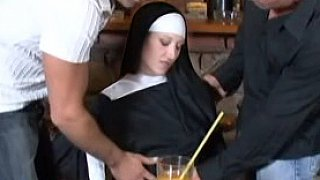 Nun's Double Duty In The Pub Thumbnail