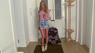 Long legged Latvia girl Lolly Gartner Thumbnail
