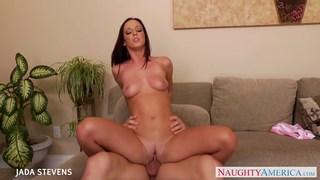 Beautiful Jada Stevens gets fucked and facialized