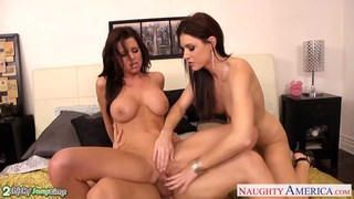 Brunettes India Summer and Veronica Avluv share a Thumbnail