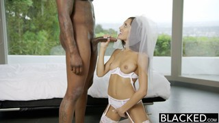 Erotic bride Chloe Amour fucked by a BBC Thumbnail