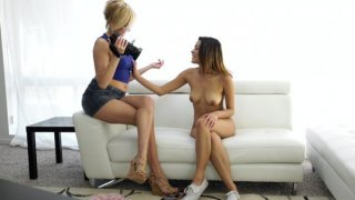 Saucy Latina Josie Jagger shows off her sensuality and sexuality when she is interviewed by Kate... Thumbnail
