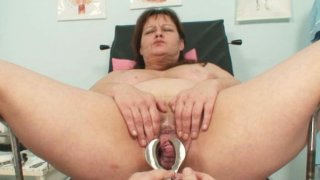 Big tits mom real gyno check up Thumbnail