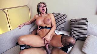 Esperanza Gomez riding meaty cock reverse cowgirl Thumbnail
