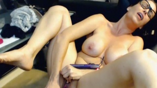 Babe Masturbating with a Vibrator and having Multiple Orgasm Thumbnail