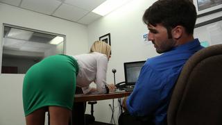 Guy got caught jerking off to his secretary Thumbnail