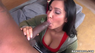 Sexy doll Isis Love plays with big black cock Thumbnail