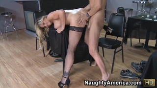 Kris Slater got seduced by the big titted blond cougar Tyler Faith Thumbnail
