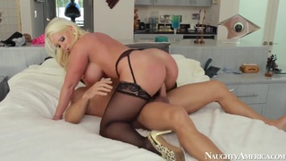Milf Alura Jenson fucked hard by Johnny Castle Thumbnail