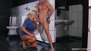 Hot busty pornstar Alura Jenson gives her ass for wild drilling Thumbnail
