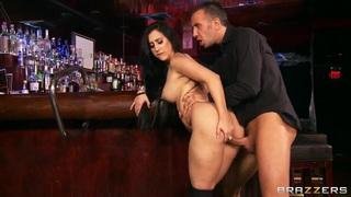 Horny bartender Valerie Kay wants Keiran's Lee cock in her twat Thumbnail