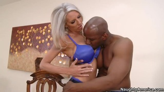 White gal Emma Starr fucks with Prince Yahshua Thumbnail
