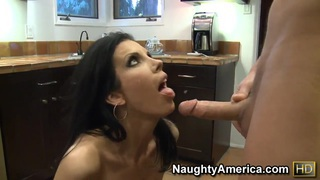 Chris Johnson fucking his friend's hot brunette mom Shay Sights Thumbnail