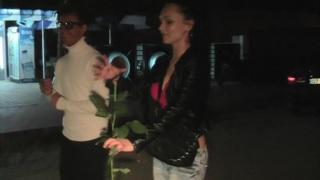 Margo & Aspen & Jocelyn in hot chick gives a handjob in a travel sex video Thumbnail