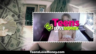 TeensLoveMoney - Lifeguard Gets Fucked on Duty Thumbnail