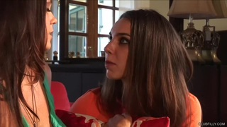 Alison Tyler and Tiffany Tyler Drink Each Other Up