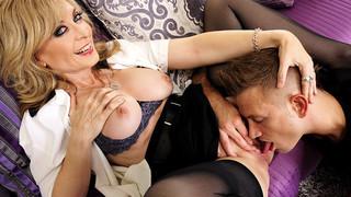 Nina Hartley & Bill Bailey in My Friends Hot Mom Thumbnail