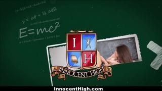 InnocentHigh - School Girl Desperate For Teacher's Cock Thumbnail