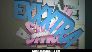 ExxxtraSmall - Tiny Twat Destroyed By A Monster Cock Thumbnail