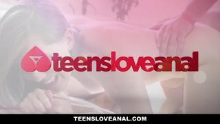 TeensLoveAnal - Lovely Secretary Ass Fucked By her Boss Thumbnail