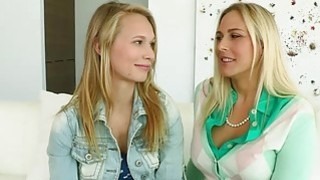 Fresh young cock for one hot blonde mommy Thumbnail