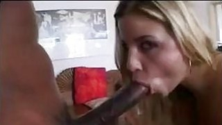 Blonde With Two Big Black Dicks Thumbnail