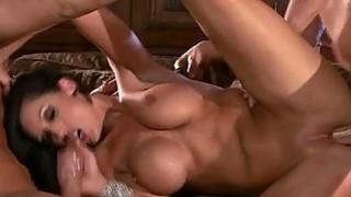 Playgirl performs oral job before great banging Thumbnail