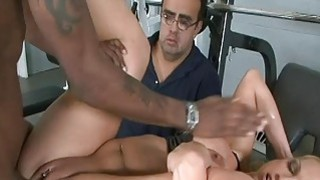 Husband love to watch his wife in strangers cum Thumbnail