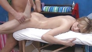Getting a carnal massage turns on babes needs Thumbnail