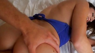 Very babe gets her hole hole fingered and screwed Thumbnail