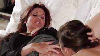 Teen Abella helps MILF Julia relax Thumbnail