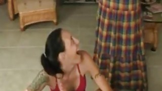 Mom catches daughter giving blowjob to her son - Hotmoza.com Thumbnail