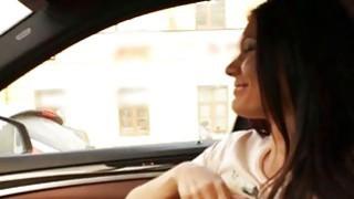 Beautiful teen girl Kitana Lure analyzed by pervert stranger