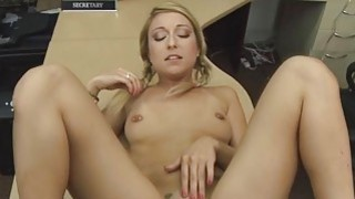 Blonde amateur sluts pussy for some cash Thumbnail