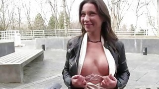Czech slut picked up on the street and fucked Thumbnail