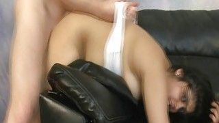 Indian girl bent over and roughly fucked Thumbnail