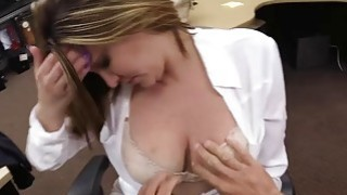 Hot Business chick sucking my cock and I fuck her pussy