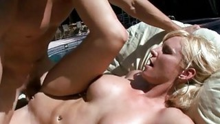 Alluring milf gives oraljob with her wet mouth Thumbnail