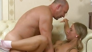Older teachers are getting blowjob from playgirl Thumbnail