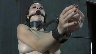 Masked beauty with exposed cunt acquires flogging Thumbnail