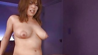 Cute japanese with sexy tits masturbates with toys Thumbnail