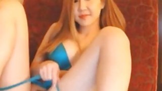 Nasty asian with wonderful body deep toying pussy On Webcam Thumbnail