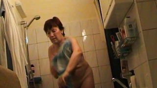 Czech mature milf Jindriska fully nude in bathroom Thumbnail