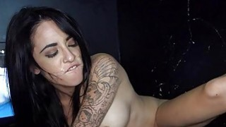 Chick is thrilled to have a penis inside her mouth Thumbnail