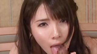Subtitles Rui Saotome POV gokkun blowjob Thumbnail