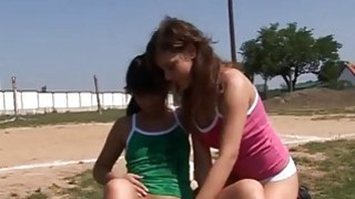 Hot teen girl speedo modeling movie Sporty teenagers gobbling each Thumbnail
