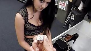 Sweet hottie babe having a huge meaty cock