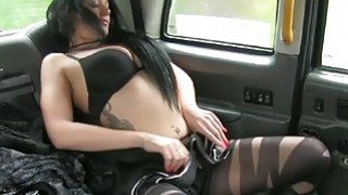 Local escort gives blowjob and fucked driver in the cab Thumbnail