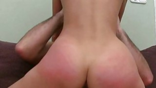Sensational cock riding with nicelooking playgirl Thumbnail